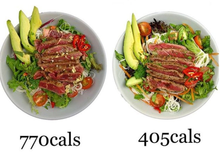 Calories In 1 Lb Ground Beef  s of the same dishes with different calories