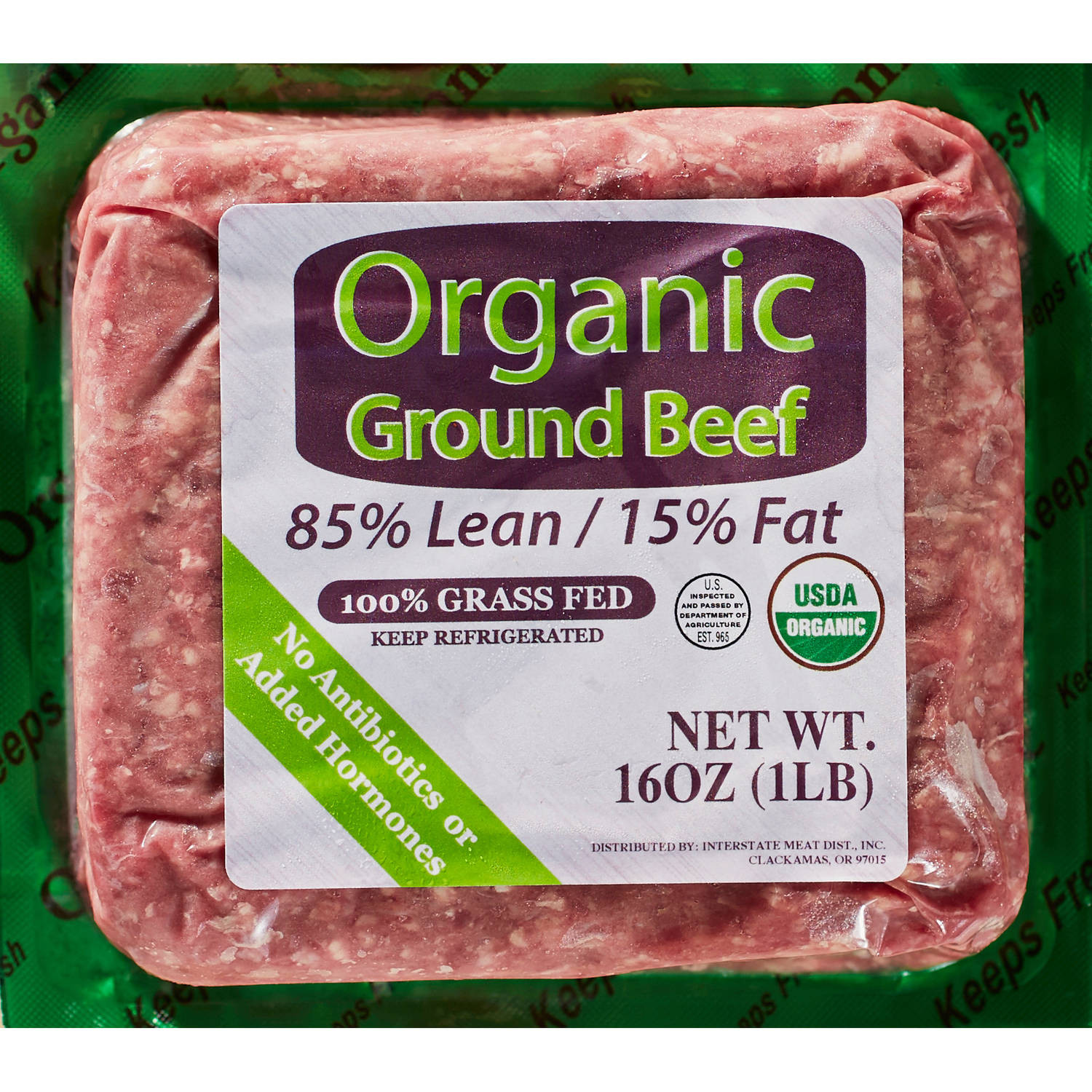 Calories In 1 Lb Ground Beef  Sam s Choice Fire Side Gourmet Pub Style Black Angus Beef