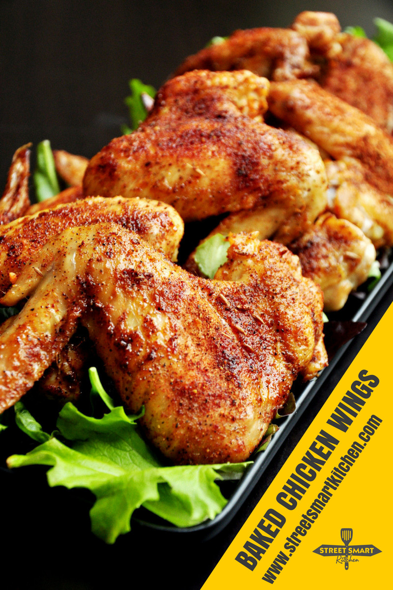 Calories In Baked Chicken Wings  Baked Chicken Wings Video StreetSmart Kitchen