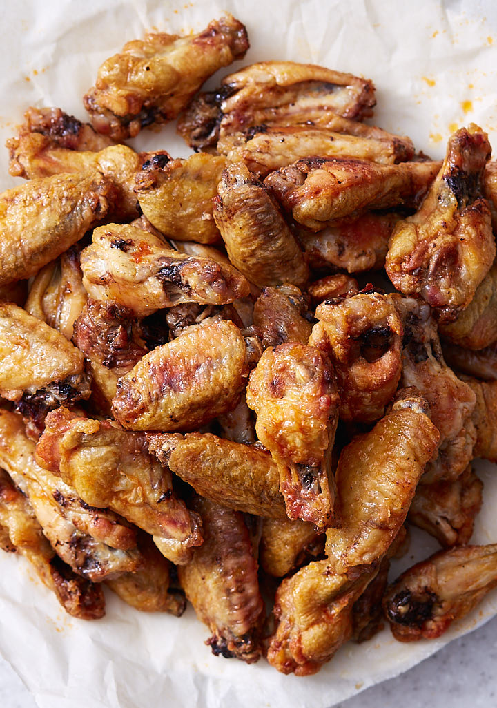 Calories In Baked Chicken Wings  Baked Chicken Wings Extra Crispy Like Deep Fried