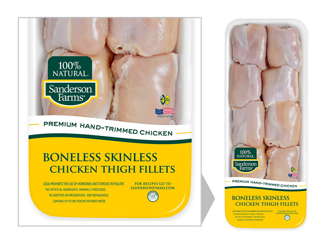 Calories In Chicken Thighs  Boneless Skinless Chicken Thigh Fillets Hand Trimmed