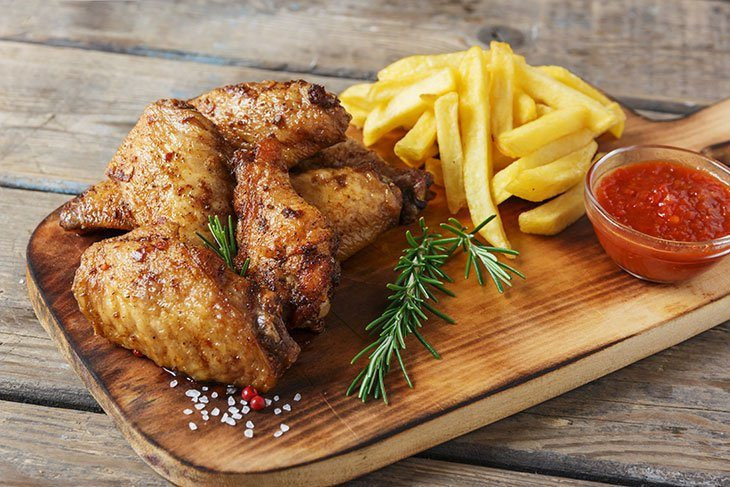 Calories In Chicken Wings  How Many Calories In A Chicken Wing You Eat Every Day