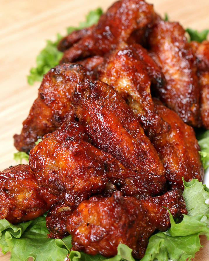 Calories In Chicken Wings  5 bbq chicken wings calories