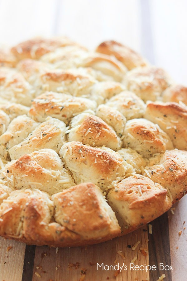 Calories In Garlic Bread  Pull Apart Garlic Bread