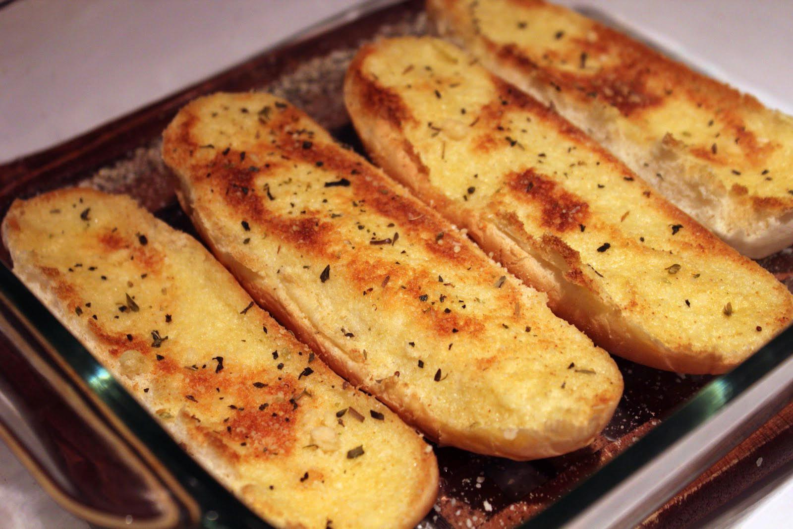 Calories In Garlic Bread  Light Garlic Bread Pin Fitness