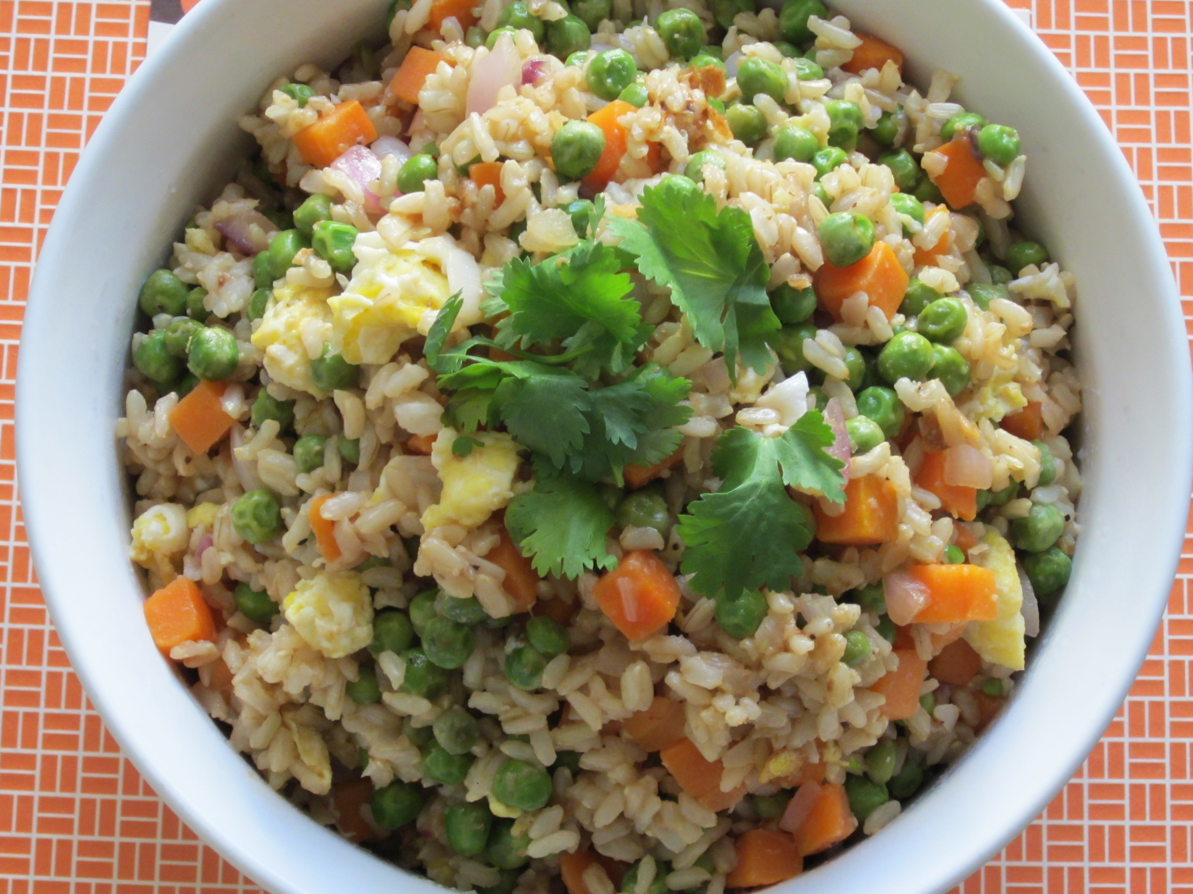 Calories In Pork Fried Rice  calories in fried rice with egg