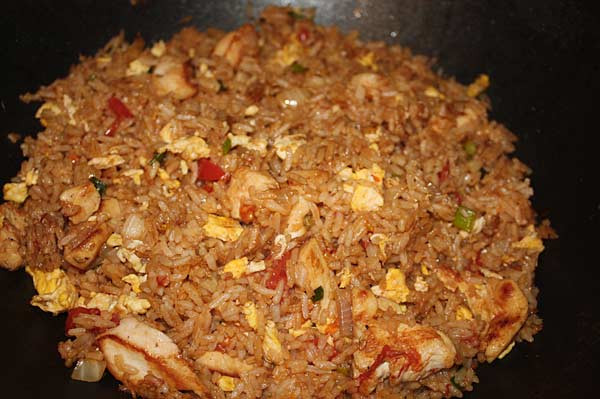 Calories In Pork Fried Rice  chicken fried rice calories