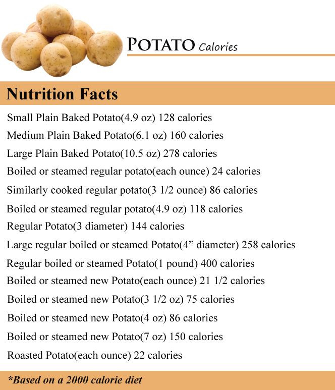 Calories In Potato  275 best images about Calories in Ve ables on Pinterest