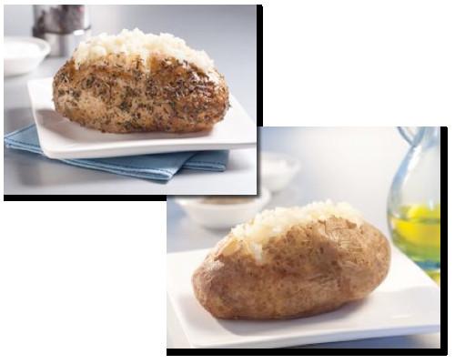 Calories In Roasted Potatoes  baked potato calories
