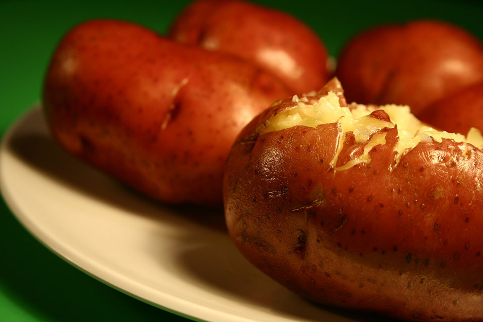 Calories In Roasted Potatoes  How Many Calories Are in a Baked Potato