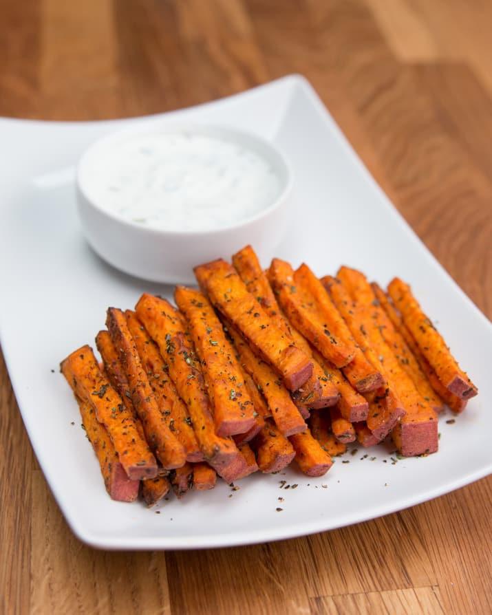 Calories In Sweet Potato Fries  sweet potato fries calories 1 cup