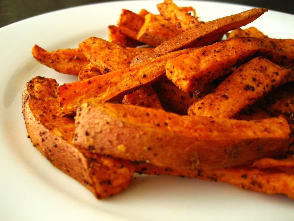 Calories In Sweet Potato Fries  Baked Sweet Potato Fries