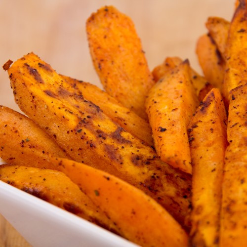Calories In Sweet Potato Fries  Sweet Potato Fries With Chipotle Sauce Get Healthy U
