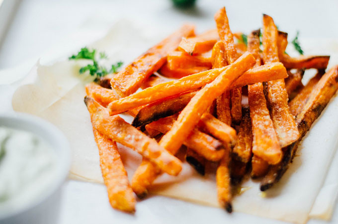 Calories In Sweet Potato Fries  Live Eat Learn Easy ve arian recipes one ingre nt