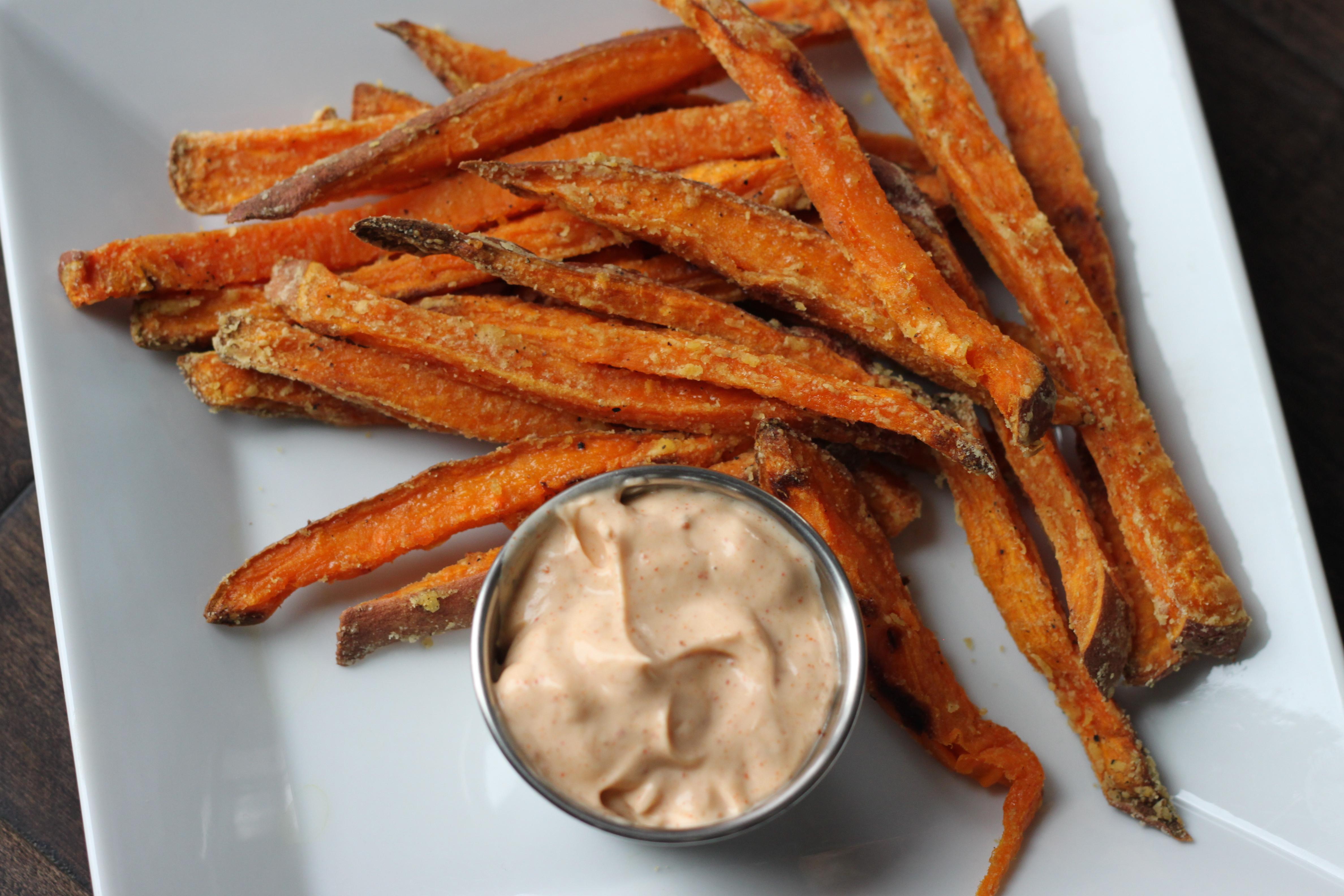 Calories In Sweet Potato Fries  Crispy Baked Sweet Potato Fries