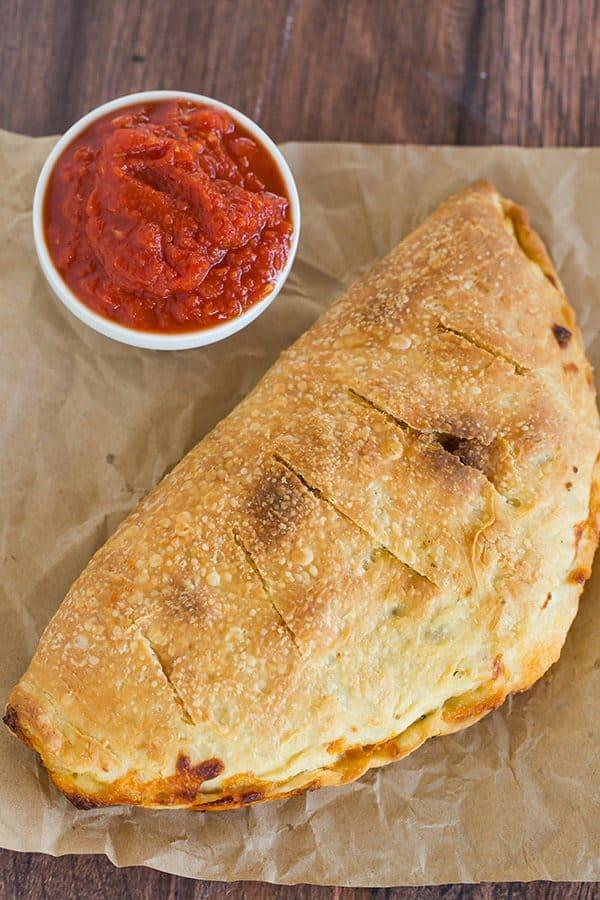 Calzone Recipe With Pizza Dough  Classic Calzones