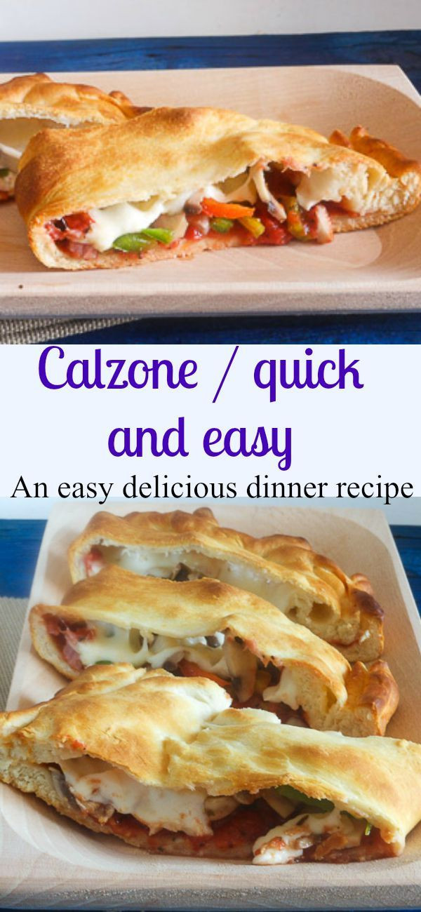 Calzone Recipe With Pizza Dough  17 Best ideas about Homemade Calzone on Pinterest