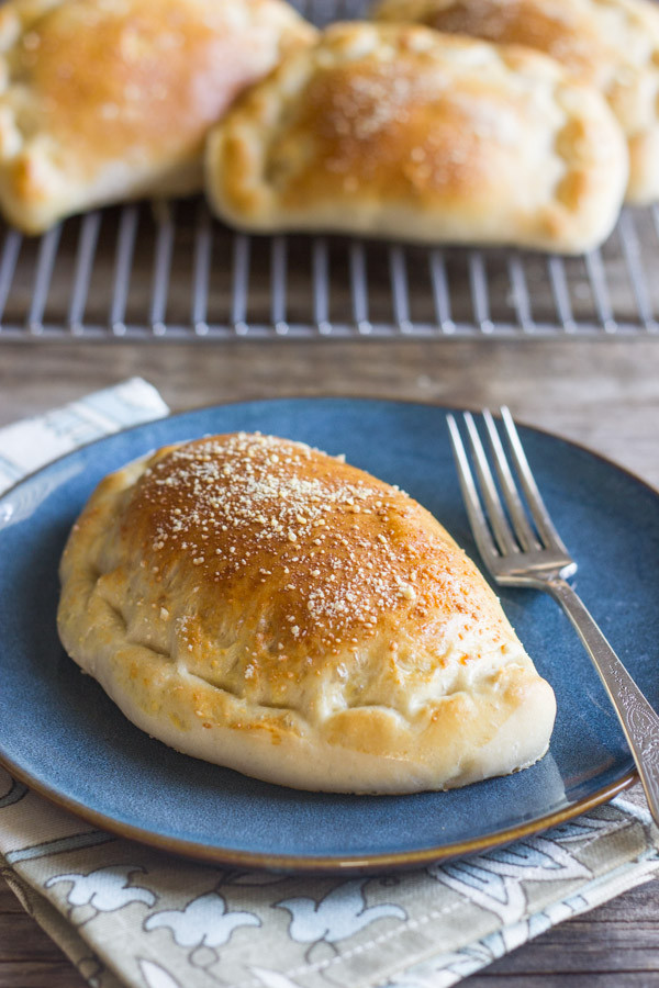 Calzone Recipe With Pizza Dough  Homemade Calzones With Italian Sausage and Mozzarella