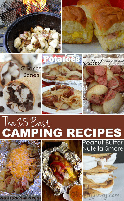 Camp Dinner Ideas  25 Best Camping Recipes Thrifty Jinxy