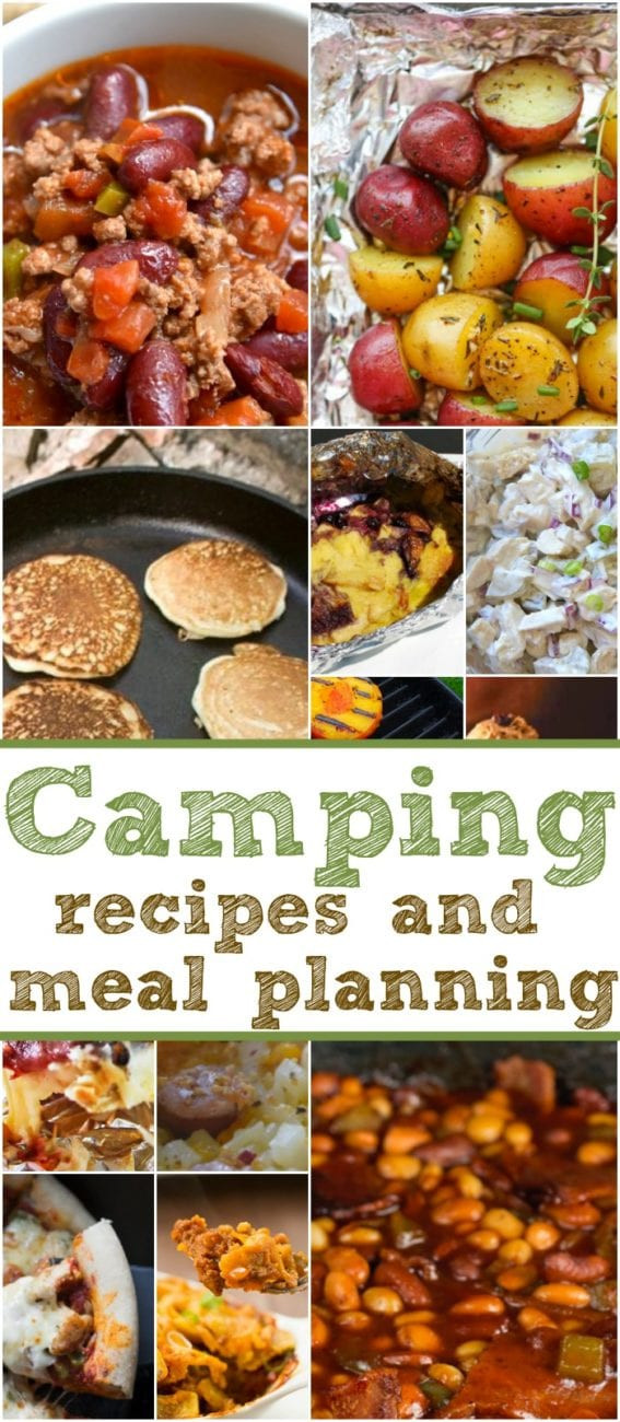 Camp Dinner Ideas  Easy Camping Recipes and Meal Planning · The Typical Mom
