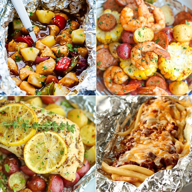 Camp Dinner Ideas  Tinfoil Dinner Camping Recipes