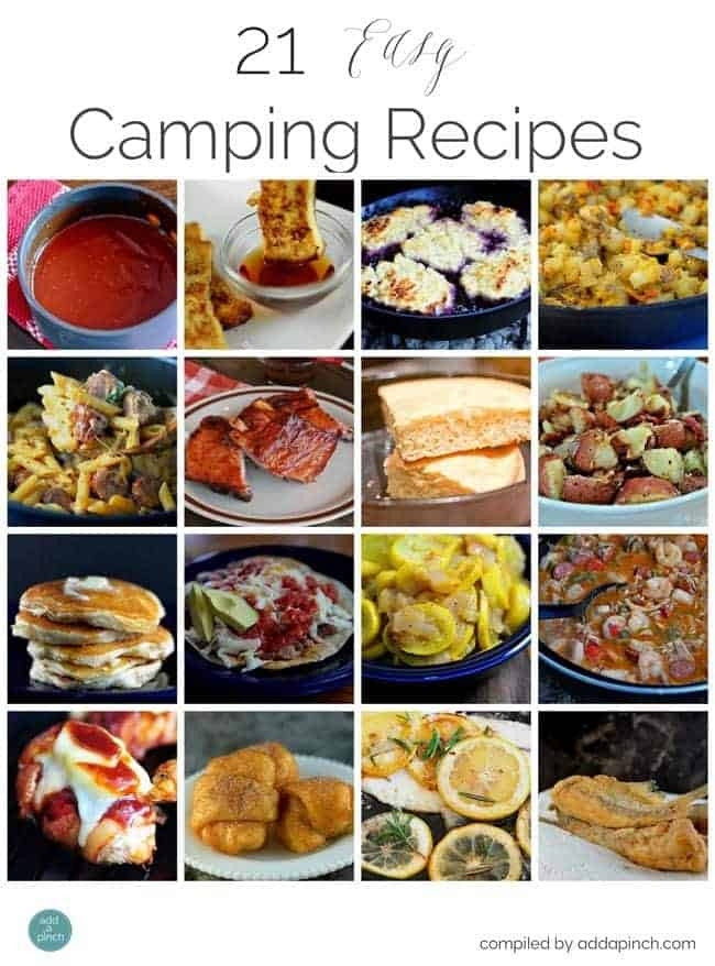 Camp Dinner Ideas  21 Easy Camping Recipes Add a Pinch