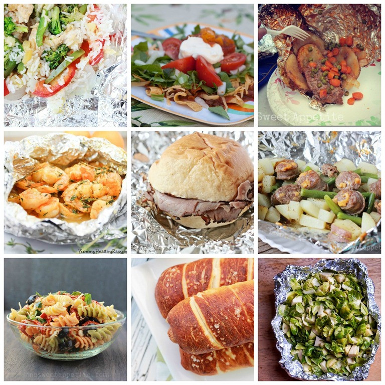 Camp Dinner Ideas  Yummy Camping Recipes And Ideas Pinterest