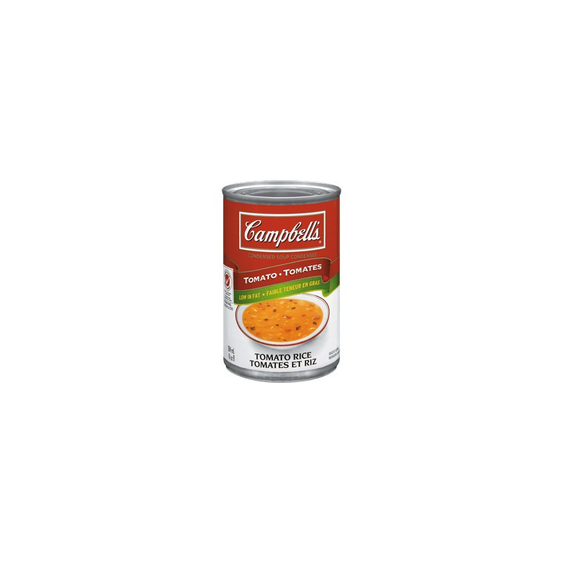 Campbell Tomato Soup  Campbell s Condensed Tomato Rice Soup 284mL