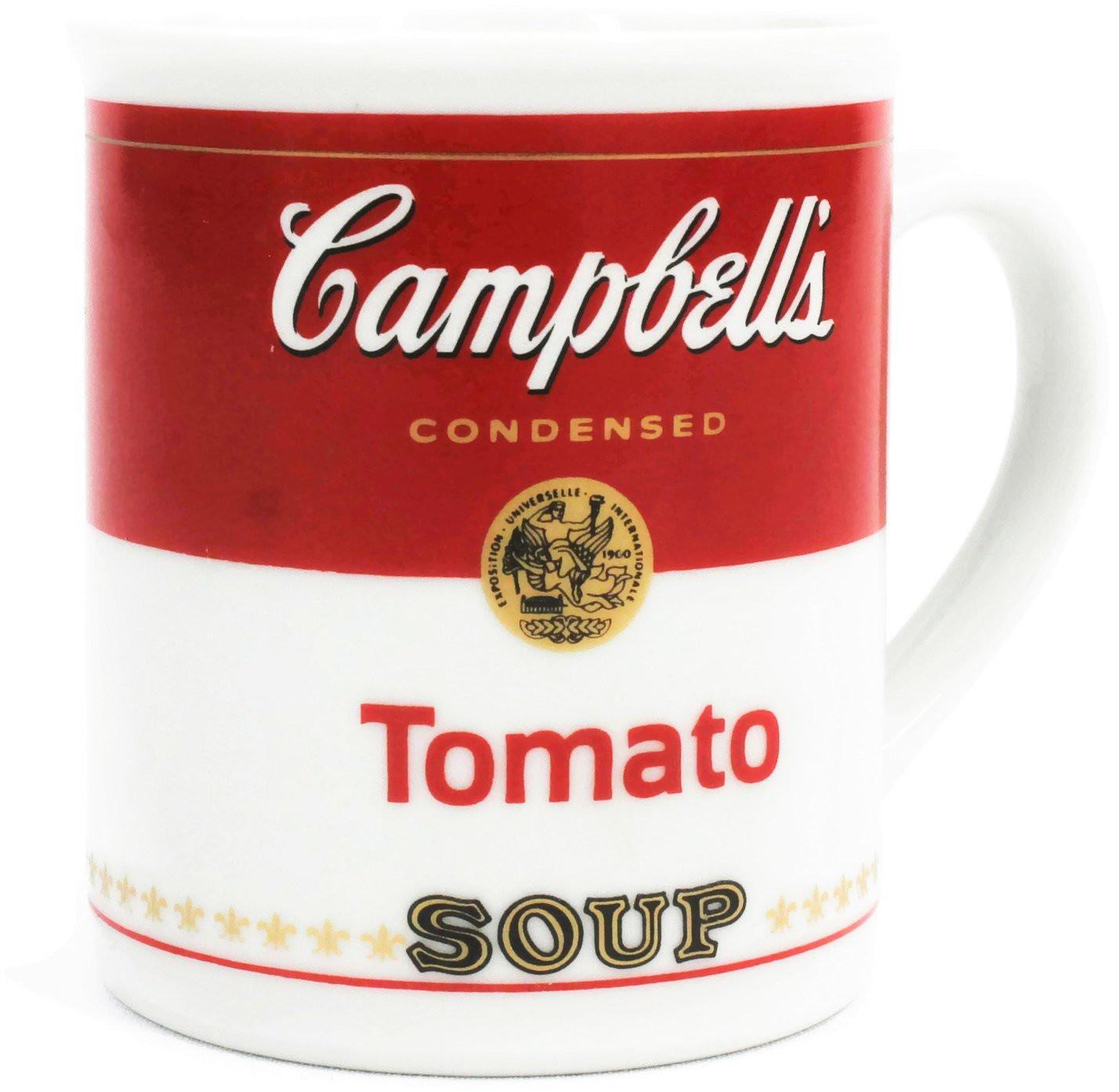 Campbell Tomato Soup  Vintage Campbells Tomato Soup Mug 125th Anniversary Soup Mug