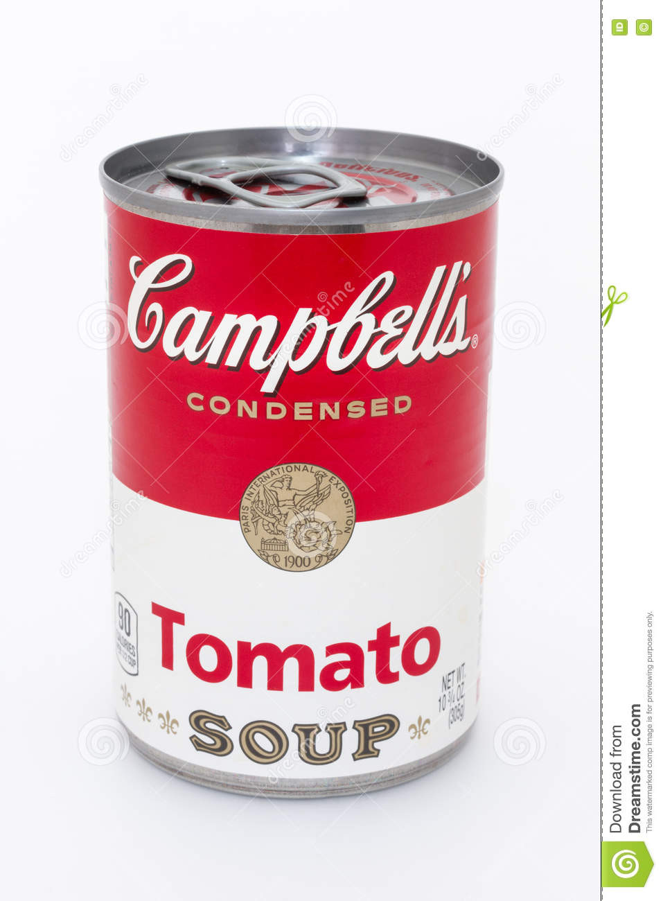 Campbell Tomato Soup  Campbell s tomato soup can editorial photography Image of