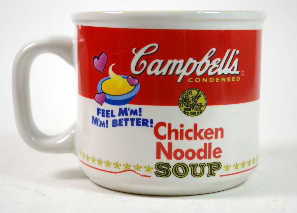 Campbell'S Chicken Noodle Soup  Campbell s Chicken Noodle Soup Mug M M M M Good 1997