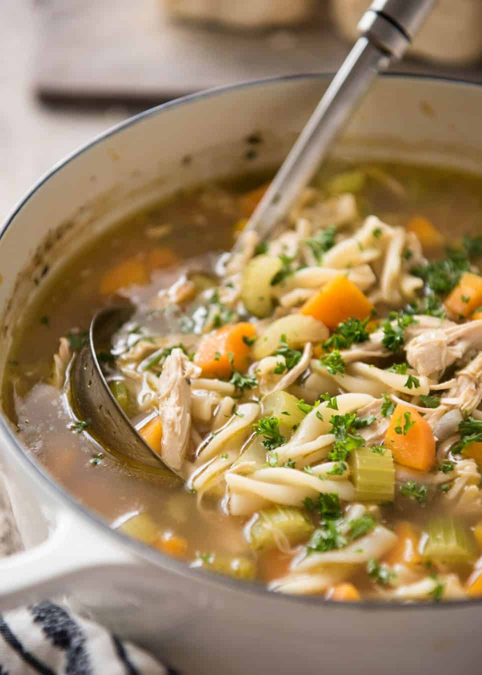Campbell'S Chicken Noodle Soup  Homemade Chicken Noodle Soup From Scratch