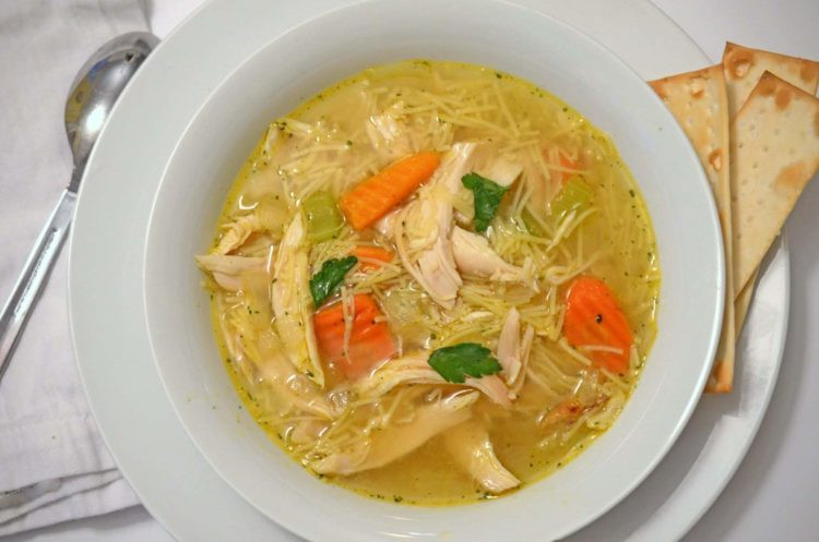 Campbell'S Chicken Noodle Soup  Easy Chicken Noodle Soup Platter Talk