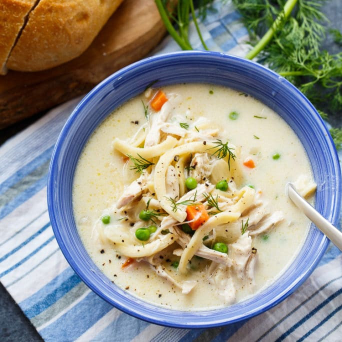 Campbell'S Chicken Noodle Soup  Chicken Noodle Soup Spicy Southern Kitchen