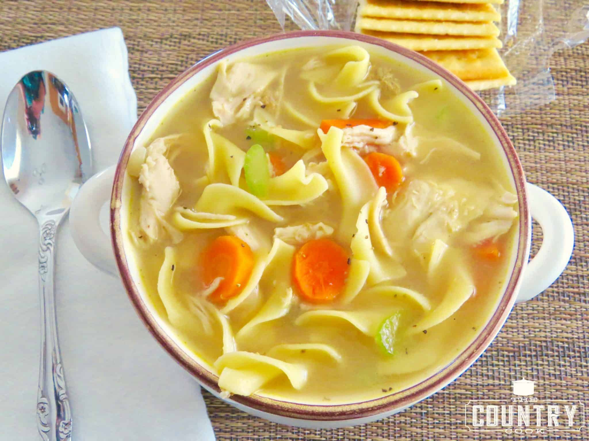 Campbell'S Chicken Noodle Soup  e Pot Chicken Noodle Soup The Country Cook