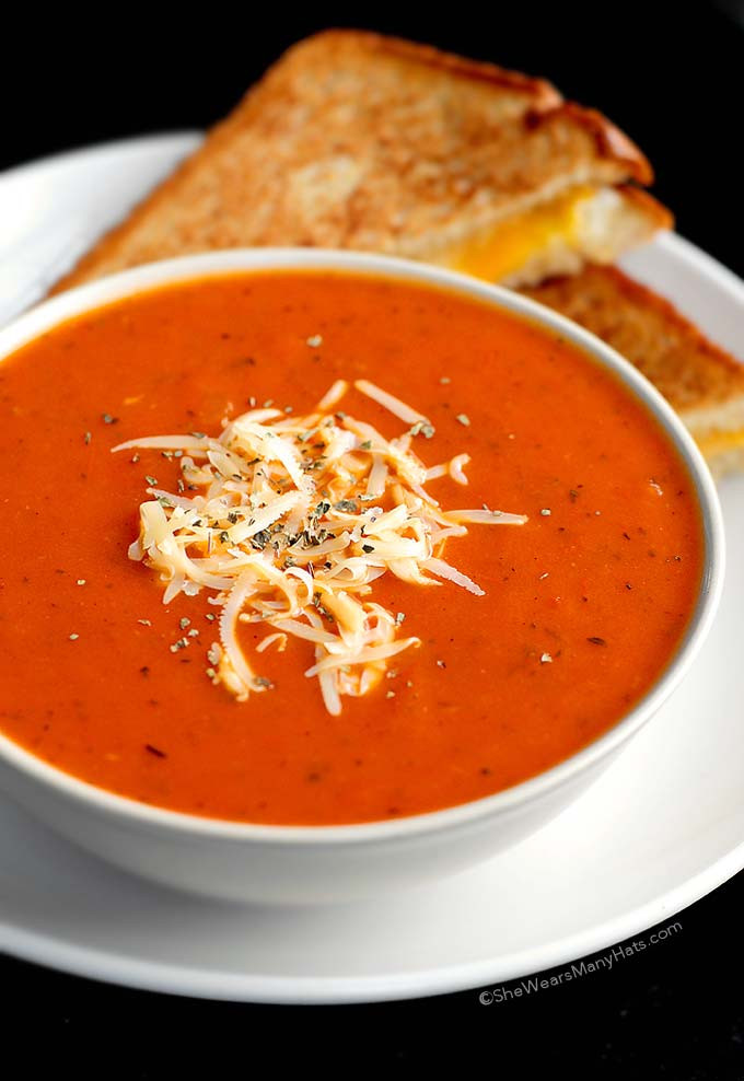 Campbell'S Tomato Soup Ingredients  Quick and Easy Tomato Soup Recipe