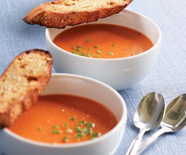 Campbell'S Tomato Soup Ingredients  Classic Tomato Soup Recipe Recipe FineCooking
