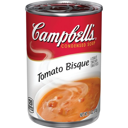 Campbell'S Tomato Soup Nutrition  Campbell s Condensed Tomato Bisque Soup 11 oz Tar