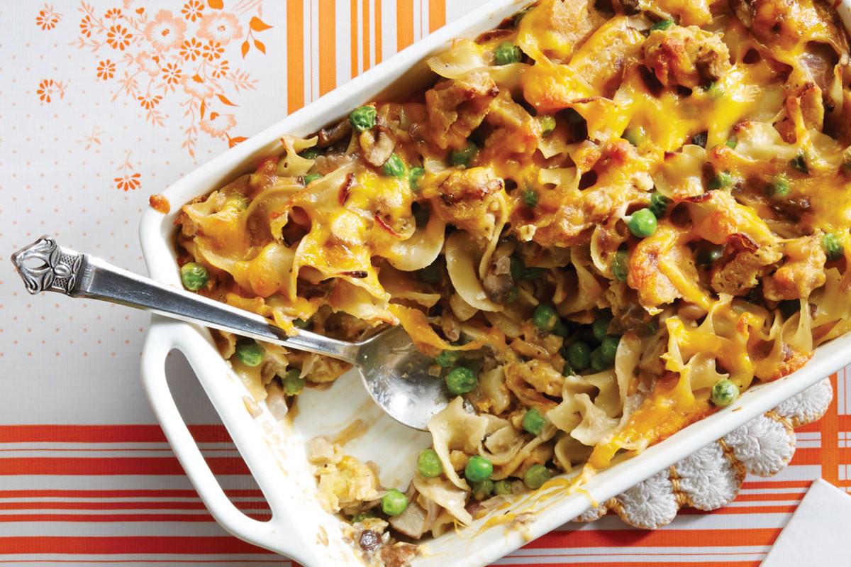 Campbell'S Tuna Noodle Casserole  Mock Tuna Noodle Casserole Recipe Ve arian Times