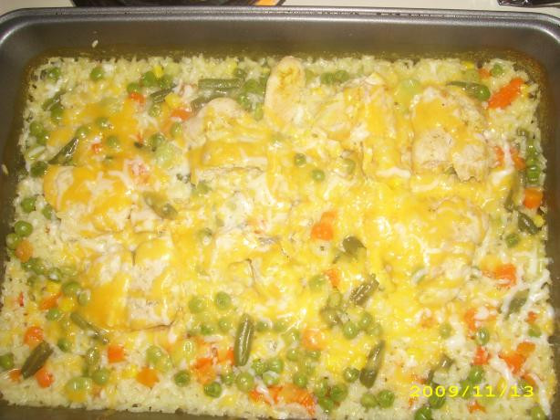 Campbells Chicken Casserole  Campbells Cheesy Chicken And Rice Casserole Recipe Food