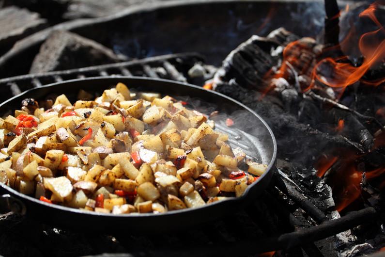 Campfire Dinner Recipes  Campfire Breakfast Potatoes Dirty Gourmet