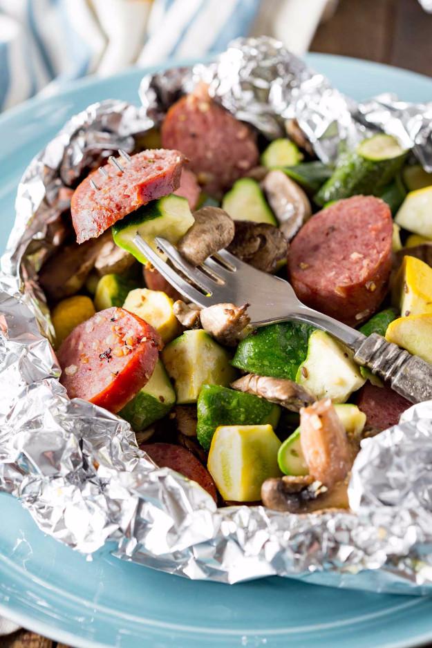 Campfire Dinner Recipes  34 Best Tin Foil Camping Recipes DIY Joy