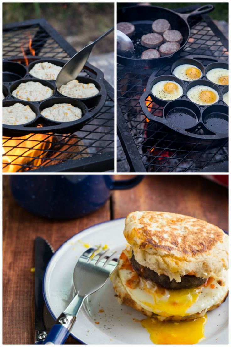 Camping Breakfast Recipes  9 best images about Camp Grill Foods on Pinterest