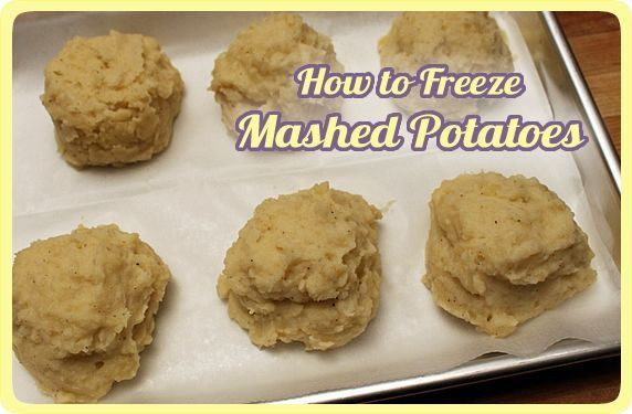 Can I Freeze Mashed Potatoes  Riches to Rags by Dori How to Freeze Mashed Potatoes