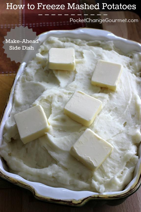 Can I Freeze Mashed Potatoes  How to Freeze Mashed Potatoes Recipe