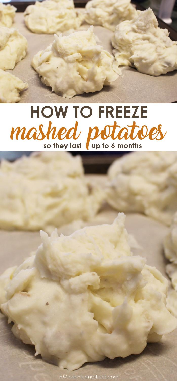 Can I Freeze Mashed Potatoes  How To Freeze Mashed Potatoes