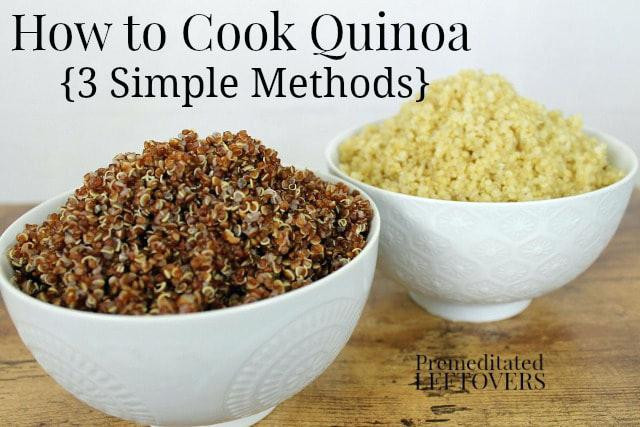 Can You Cook Quinoa In A Rice Cooker  Can I Cook Quinoa In My Rice Cooker How To Cook Quinoa How