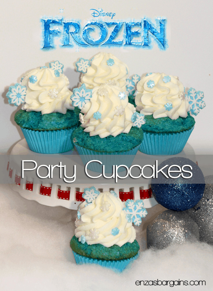 Can You Freeze Cupcakes  Disney s Frozen Cupcakes Inspired by Elsa and Olaf