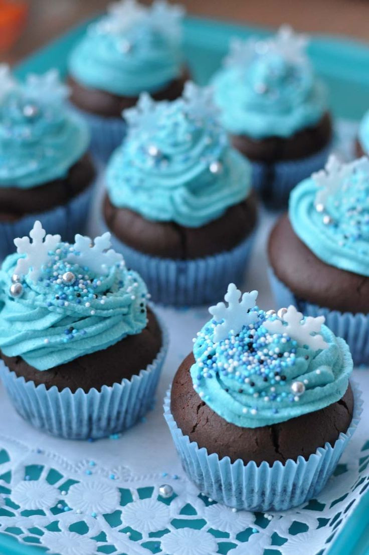 Can You Freeze Cupcakes  frozen cupcakes28 kindergeburtstag frozen
