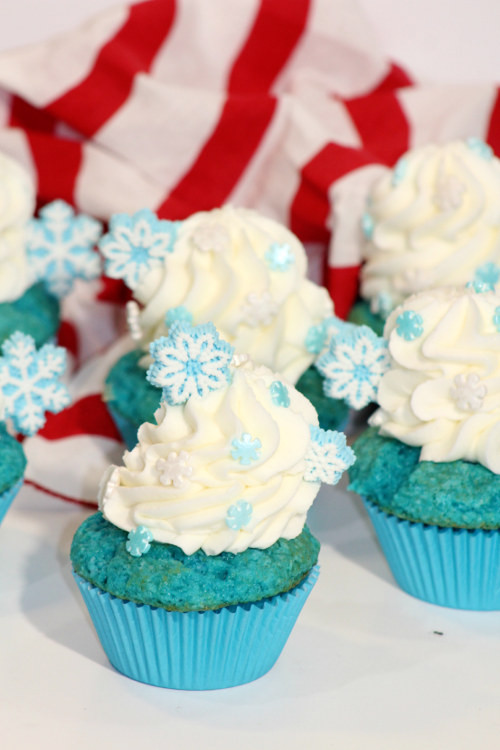 Can You Freeze Cupcakes  Super Simple Disney Frozen Cupcake Recipe and Decorating